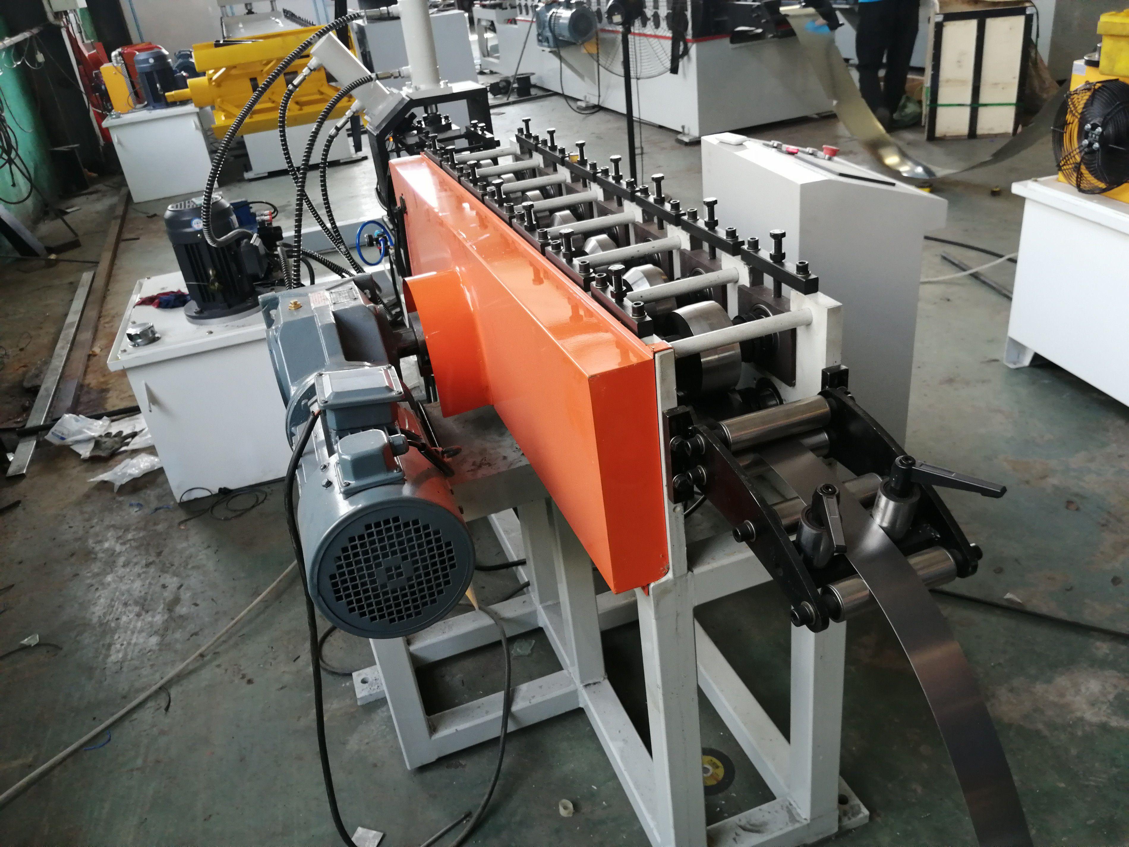 梅州仓储货架自动生产设备